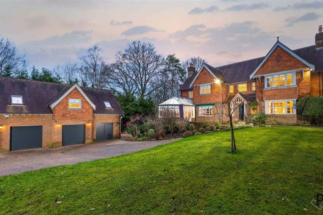 Thumbnail Detached house for sale in Ryst Wood Road, Forest Row