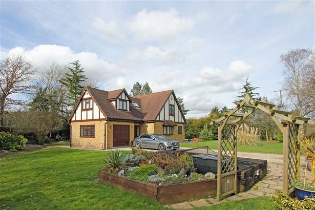 Thumbnail Detached house for sale in Ashwells Road, Pilgrims Hatch, Brentwood