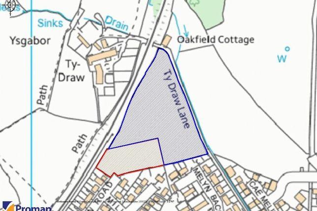 Land for sale in Bryn Teg Place, Pontypool