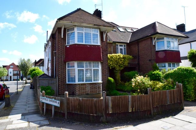 Thumbnail Semi-detached house for sale in Western Avenue, Golders Green, London