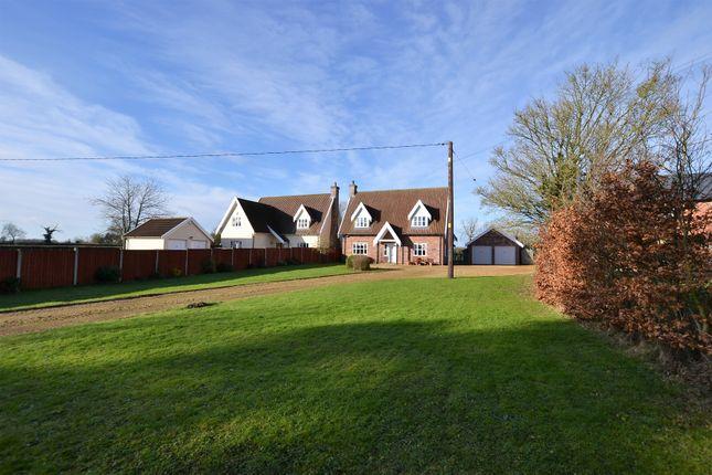 Thumbnail Detached house for sale in Shop Street, Whinburgh, Dereham, Norfolk.