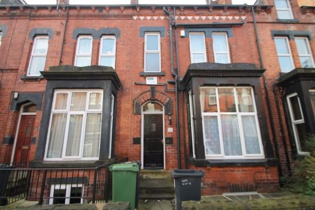 Thumbnail Terraced house to rent in Regent Park Terrace, Hyde Park, Leeds