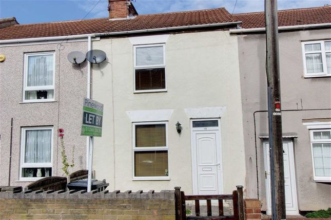 Thumbnail Terraced house to rent in Burnell Street, Chesterfield, Derbyshire