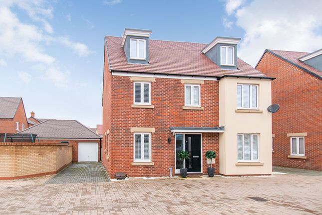 Thumbnail Detached house for sale in Macmillan Grove, Biggleswade