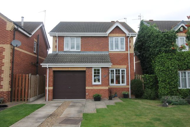 Thumbnail Detached house for sale in Sandbeck Court, Rossington, Doncaster