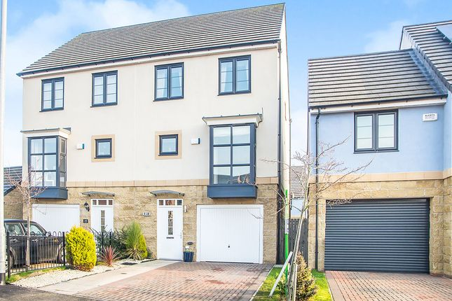 Thumbnail Semi-detached house for sale in King Oswald Drive, Stella Park, Blaydon-On-Tyne