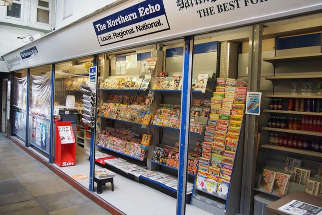Thumbnail Retail premises for sale in Newsagents DL1, County Durham