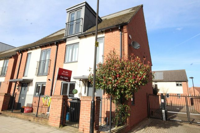 Thumbnail Town house for sale in Barring Street, Upton, Northampton
