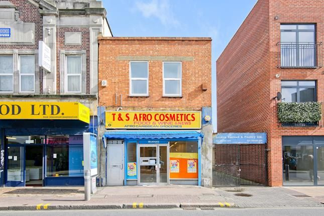 Thumbnail Commercial property for sale in 213A, Rye Lane, London
