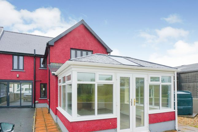 Thumbnail End terrace house for sale in Station Road, Crymych