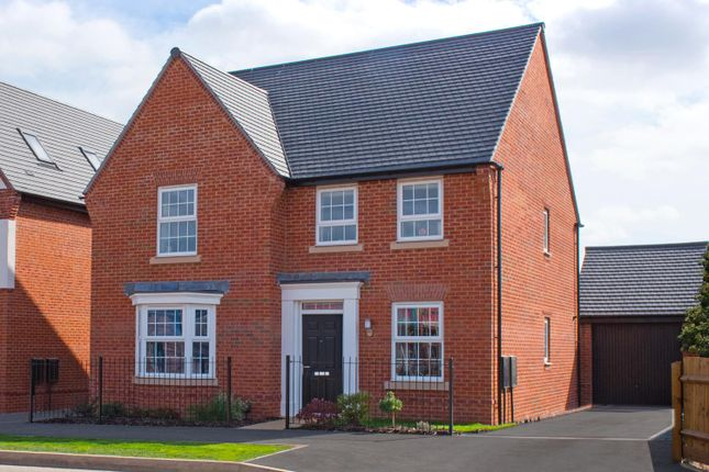 "Thumbnail Detached house for sale in ""Holden"" at Whites Lane, New Duston, Northampton"