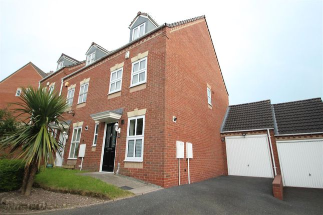 Thumbnail Semi-detached house to rent in Hengrave Meadow, Lawley, Telford