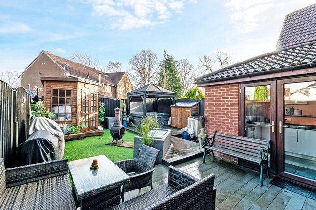 Garden of Barmouth Close, Callands, Warrington WA5