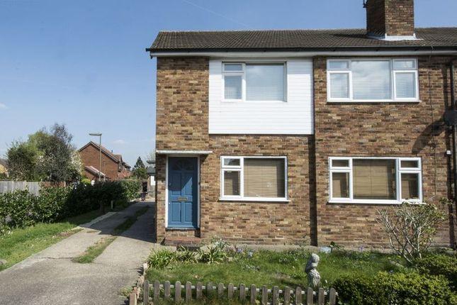 Thumbnail Maisonette to rent in Montague Close, Walton-On-Thames