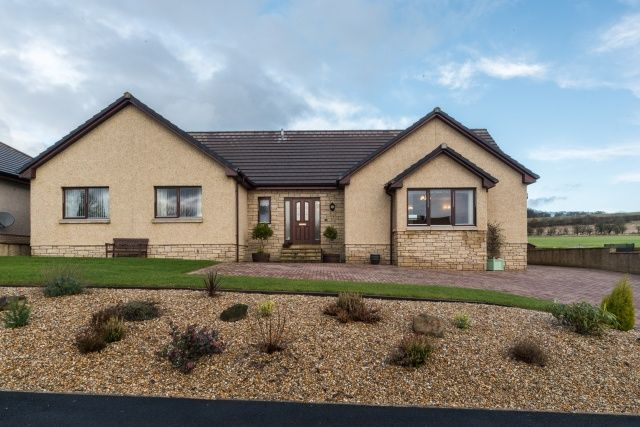 4 bedroom bungalow for sale in The Avenue, Greenlaw, Duns, Borders