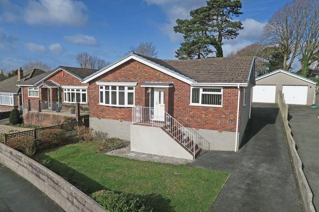 Thumbnail Detached bungalow for sale in Furzehatt Way, Plymouth, Devon