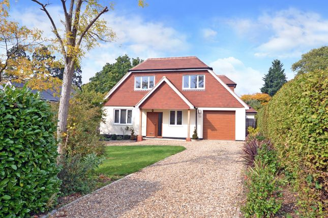 Thumbnail Detached house for sale in Highfields, East Horsley