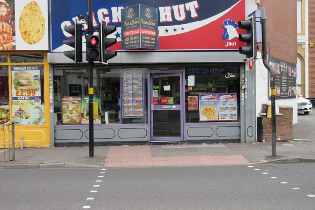 Thumbnail Restaurant/cafe to let in Stratford Road, Sparkhill, Birmingham