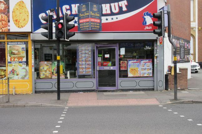 Thumbnail Restaurant/cafe to let in Stratford Road, Sparkhill, Birmingham