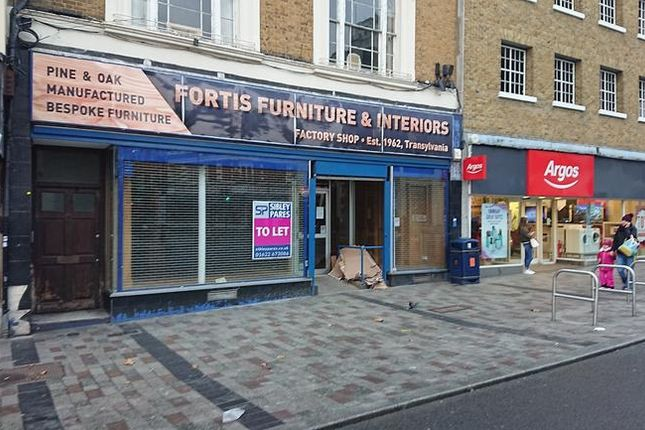 Thumbnail Retail premises to let in High Street, Maidstone, Kent