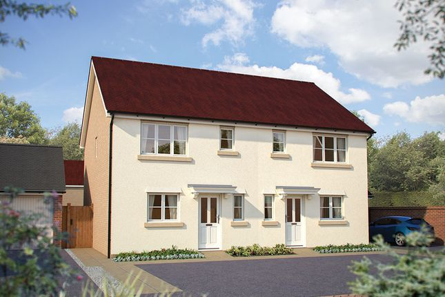 """Thumbnail Semi-detached house for sale in """"The Southwold"""" at Dragonfly Lane, Cringleford, Norwich"""
