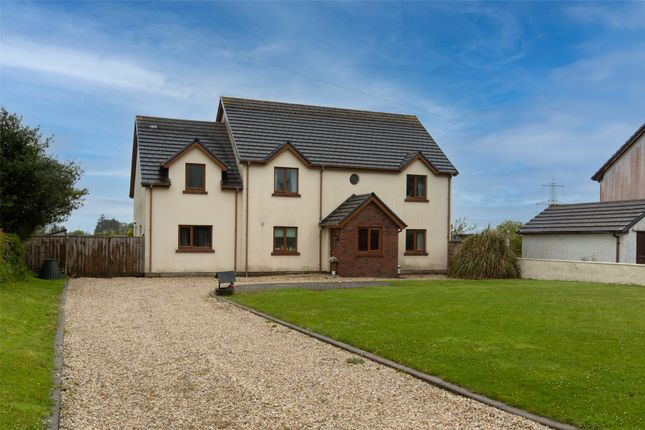 Detached house for sale in Y Hafod, Ludchurch, Narberth, Pembrokeshire