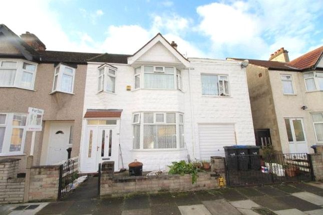 Thumbnail End terrace house for sale in Croyland Road, London