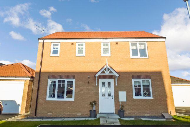 Thumbnail Detached house for sale in Longhorsley Green, Ashington