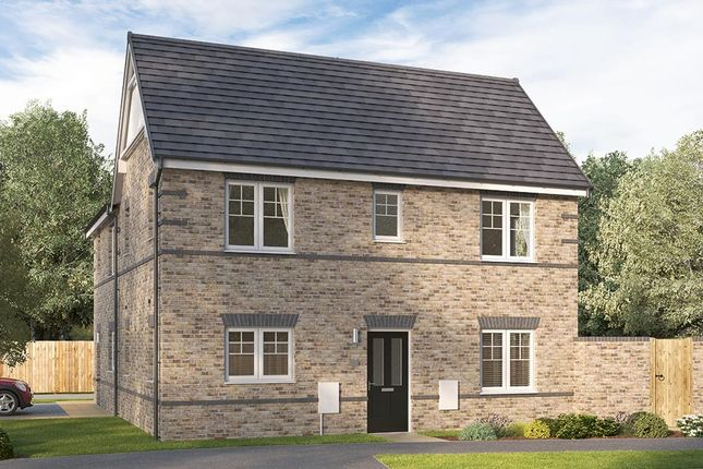 """Thumbnail Semi-detached house for sale in """"The Seabridge"""" at Myton Green, Europa Way, Warwick"""