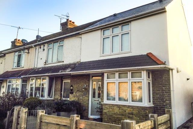 Thumbnail End terrace house to rent in Station Road, Whitstable
