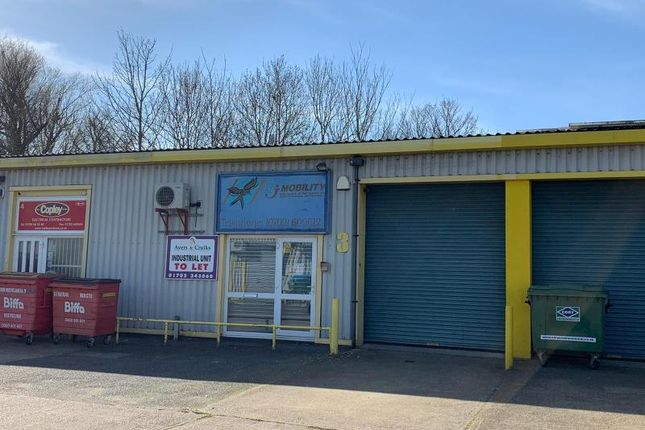 Thumbnail Industrial to let in Unit, 3, Brookside Centre, Temple Farm Industrial Estate, Southend-On-Sea
