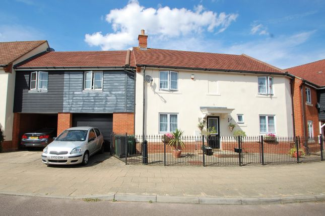 Thumbnail Terraced house for sale in Elgar Drive, Witham