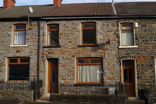 Thumbnail Terraced house for sale in Eva Street, Mountain Ash