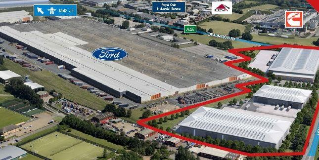 Industrial to let in Mustang Park, Leamington Way, Daventry