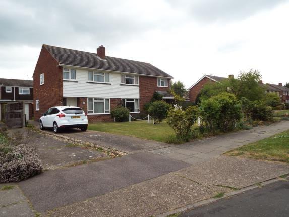 Thumbnail Semi-detached house for sale in Brockenhurst Close, Canterbury, Kent, United Kingdom
