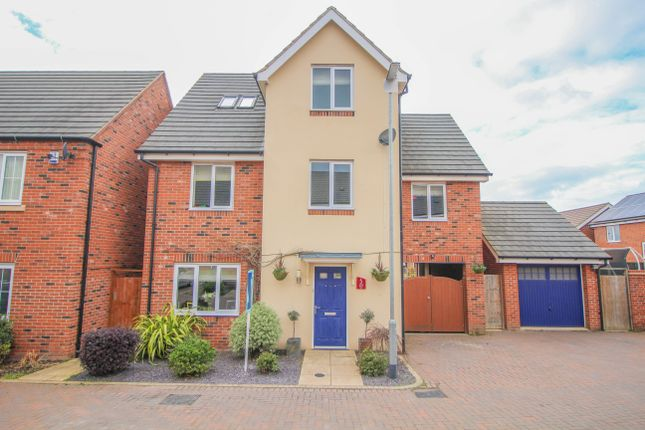 Thumbnail Detached house for sale in Aspen Walk, Rugby