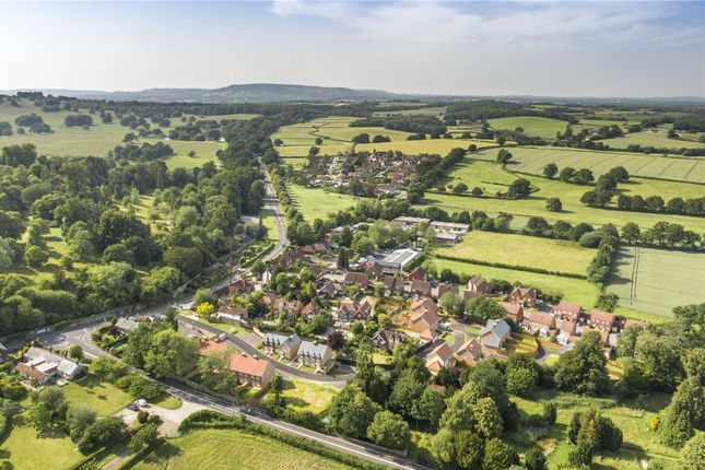 Drone Image of Old School Close, Petworth, West Sussex GU28