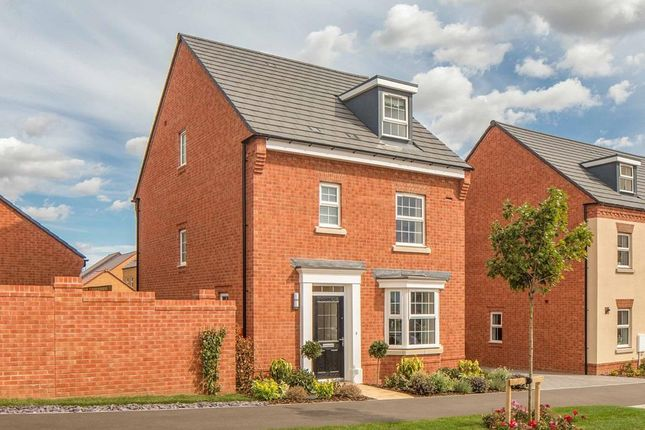 "Thumbnail Detached house for sale in ""Bayswater"" at Briggington, Leighton Buzzard"