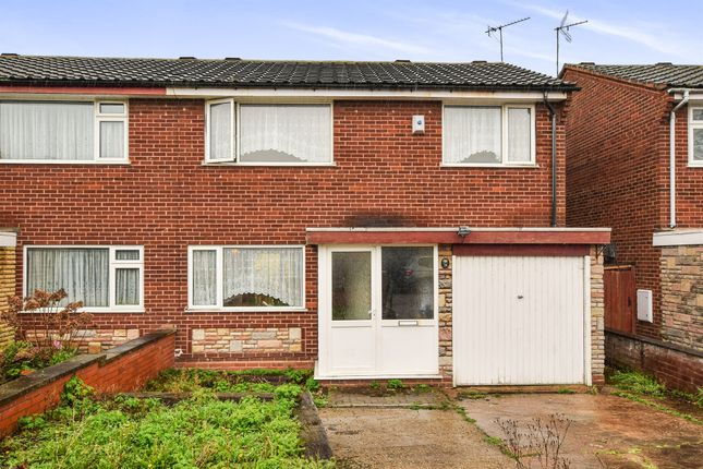 Thumbnail Semi-detached house for sale in Arbor Way, Chelmsley Wood, Birmingham