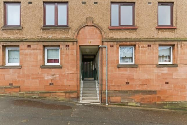 Entrance of Sir Michael Street, Greenock, Inverclyde PA15
