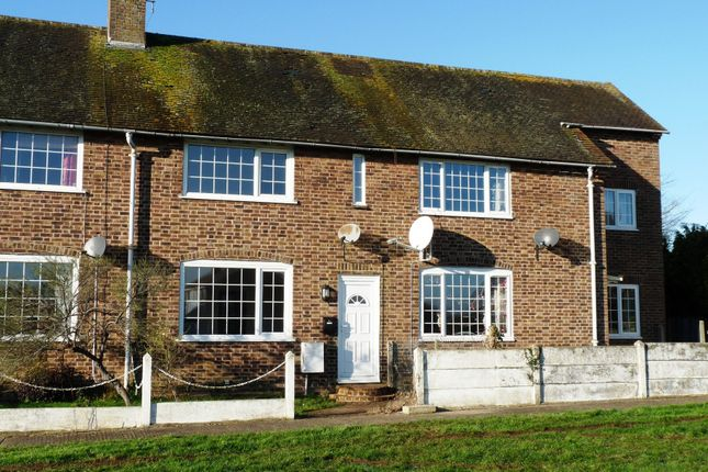 Thumbnail 2 bed terraced house to rent in Rodney Crescent, Ford, Arundel