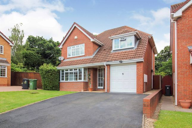 Thumbnail Detached house for sale in Marsh Avenue, Long Meadow, Worcester