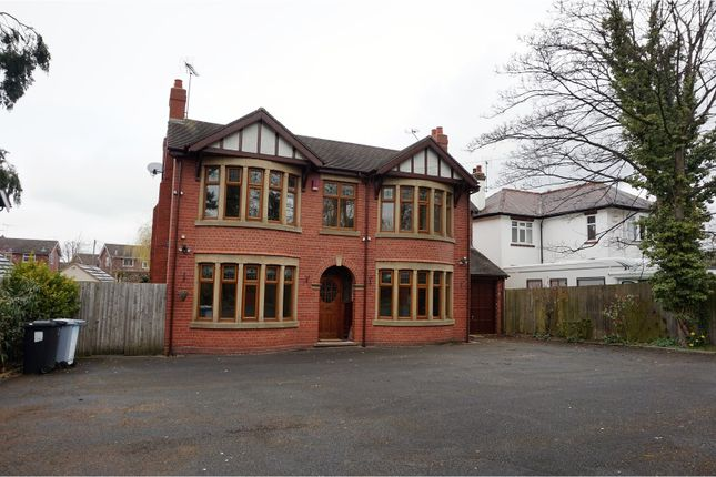 Thumbnail Detached house for sale in Crewe Road, Crewe