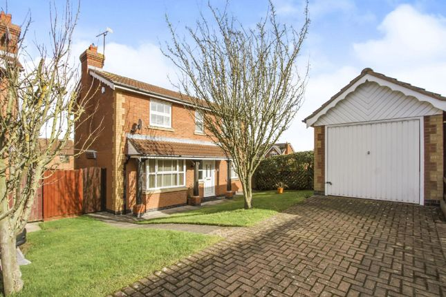 Thumbnail Detached house to rent in James Gavin Way, Oadby, Leicester
