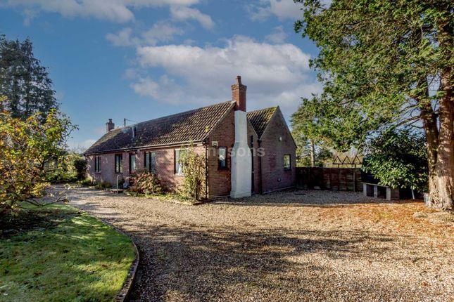 Thumbnail Detached bungalow for sale in Newton, Castle Acre