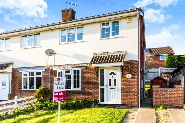 Thumbnail Semi-detached house for sale in Chelmsford Drive, Grantham