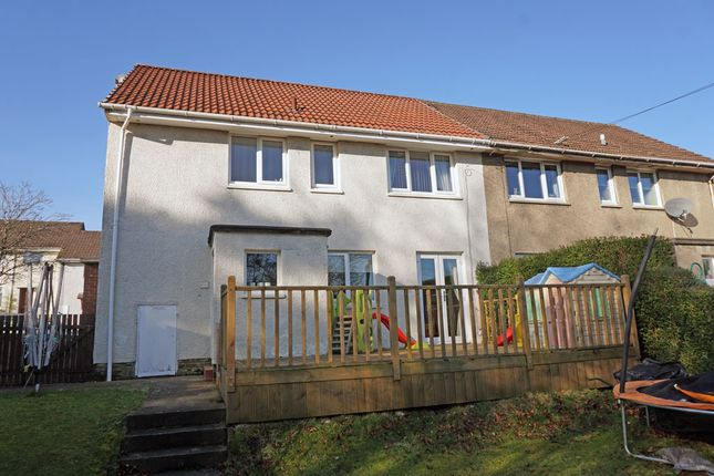 Rear Aspects of Kelso Drive, East Mains, East Kilbride G74