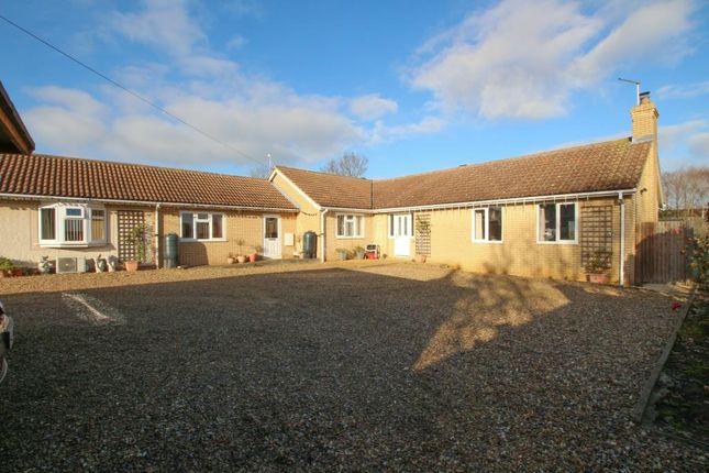 Thumbnail Detached bungalow for sale in School Lane, Chittering, Cambridge