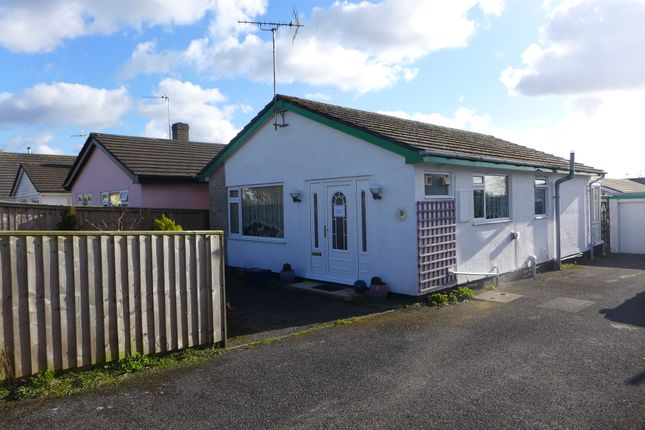 Thumbnail Detached bungalow for sale in St. Leonards Avenue, Crundale, Haverfordwest