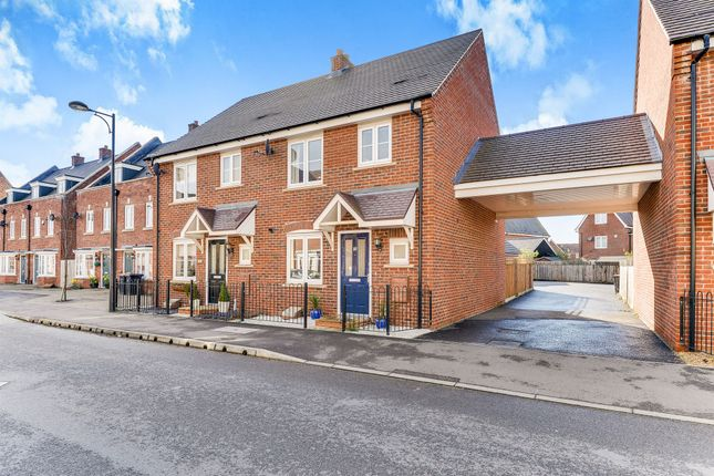 Thumbnail Semi-detached house for sale in Brooklands Avenue, Wixams, Bedford